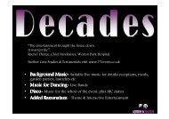 • Background Music Background Music • Music for Dancing Music ...