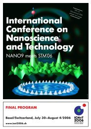 International Conference on Nanoscience and Technology