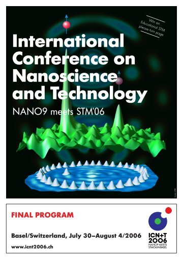 International Conference on Nanoscience and Technology