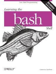 Chapter 4: Basic Shell Programming - O'Reilly Media
