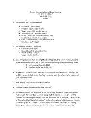 Agenda - Backman Elementary School