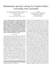 Multiantenna spectrum sensing for Cognitive Radio ... - ResearchGate