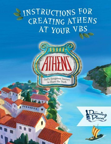 InstructIons for creatIng athens at your VBs - Group