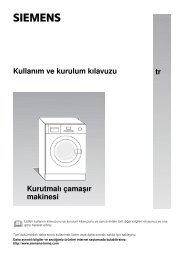 Kurutmalı Çamaşır Makinesi - Servis Home