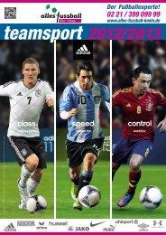 teamsport 2012/2013 - bei  alles fussball