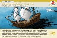El comercio entre España y sus colonias - Manosanta