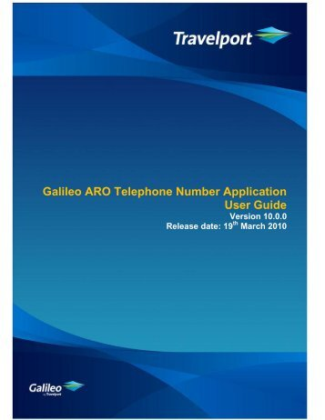 galileo nz etr user guide travelport support rh yumpu com cineca galileo user guide galileo users guide 624034/00