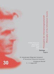 Philosophy of the Information Society - Austrian Ludwig Wittgenstein ...