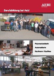 Berufsbildung bei Aebi Berufsbildung bei Aebi - Gp1.ro