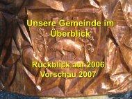 Präsentation - Marktgemeinde Groß-Schweinbarth