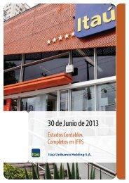 30 de Junio de 2013 - Banco Itaú