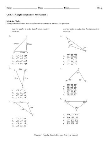 Triangle Inequality Theorem ( Read ) | Geometry | CK-12 Foundation
