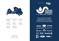 Aicinām ūdenssaimniecības, projektētājus un būvniekus ... - Sanistal