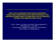 DRUG COST CONSIDERATIONS FOR ... - Abt Associates