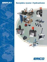 Narzędzia ręczne i hydrauliczne FPO - ERICO Caddy i Eriflex
