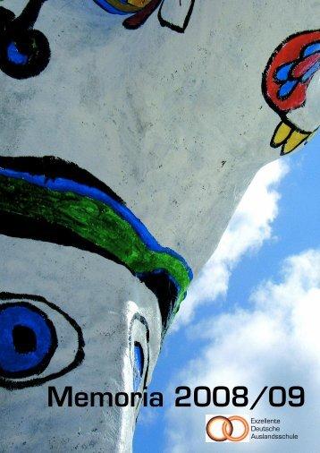 Memoria 08/09 - Deutsche Schule Las Palmas de Gran Canaria