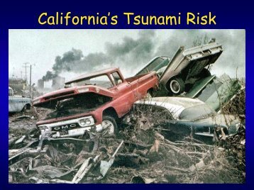 California's Tsunami Risk PowerPoint Presentation