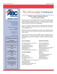 12-07-2009 The Mississippi Contractor.pdf - Msabc.net