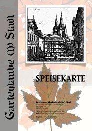 SPEISEKARTE - Gartenlaube-Marburg