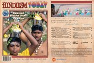 Hinduism Today July 2007 - Cover, Index, Gatefold, Front Articles