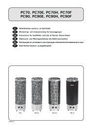 PC70, PC70E, PC70H, PC70F PC90, PC90E, PC90H ... - Netrauta.fi