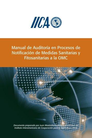 Manual de Auditoría en Procesos de Notificación de Medidas ...