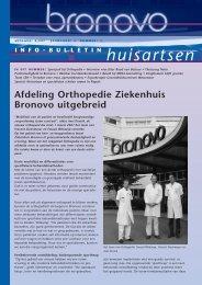 Afdeling Orthopedie Ziekenhuis Bronovo uitgebreid
