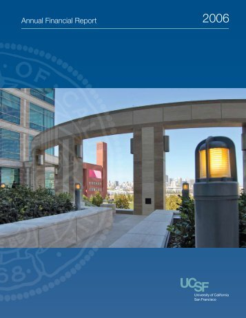 2005-2006 Annual Financial Report - Controller's Office - University ...