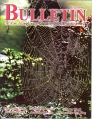 May 2009 Bulletin - Allegheny County Medical Society
