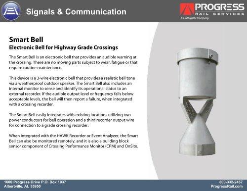 Smart Bell - Progress Rail Services