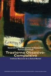 Trastorno Obsesivo-Compulsivo - NIMH