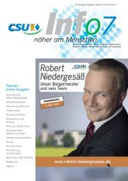 """INFO 2007/II"" (pdf-Datei 5 MB) - CSU-Ortsverband Vaterstetten ..."