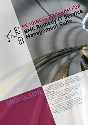 BMC Remedy IT Service Management Suite - G2G3