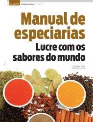 Clique para baixar o Manual de Especiarias - Supermercado Moderno