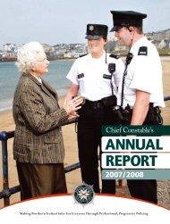 Chief Constable's Annual Report 2007 - 08 english version (PDF ...