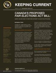 Fair Elections Act