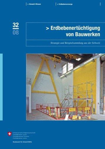 Erdbebenertüchtigung von Bauwerken - Planat
