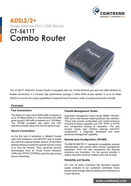 COMTREND CT 5611T USB WINDOWS 8 X64 DRIVER DOWNLOAD