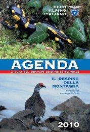 Copertina – Agenda 2010 definitiva in pdf - Club Alpino Italiano ...
