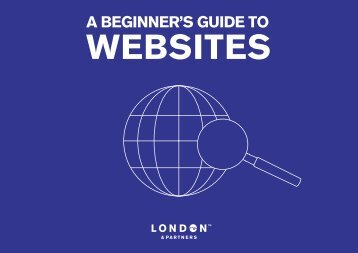 A beginners guide to websites cover - London & Partners