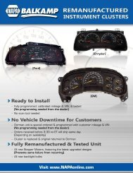 Product Flyer - Dorman Products