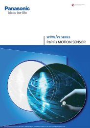 PaPIRs MOTION SENSOR - Diamond Electronics