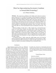 What Can Superconducting Gravimeters Contribute to Normal-Mode ...