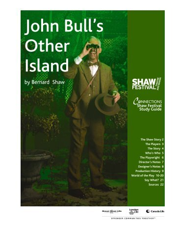 The Doctor's Dilemma John Bull's Other Island - Shaw Festival Theatre