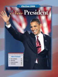 2008 Election Update - McGraw-Hill Higher Education