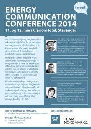 Energy-Communication-Confernce-2014-Stavanger