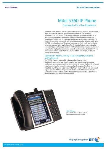 mitel 5330e ip phone manual