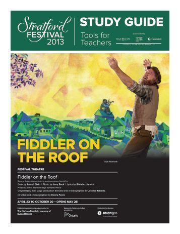Fiddler on the Roof - Stratford Festival