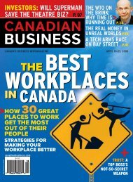 THE BEST THE BEST - Great Place to Work Institute