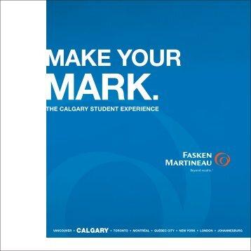 Download our Student Brochure (PDF) - Fasken Martineau